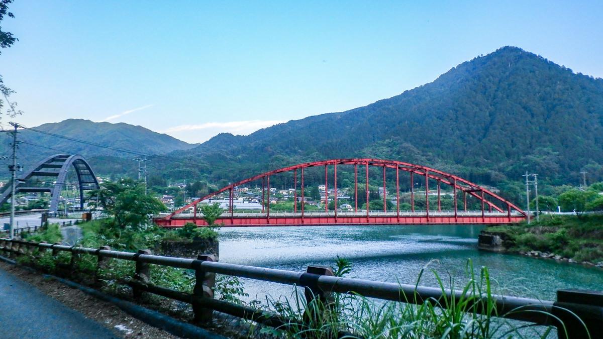 阿寺渓谷 橋