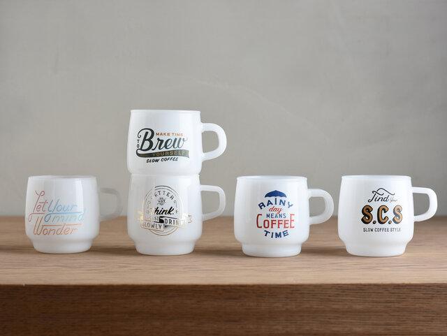 KINTO|SLOW COFFEE STYLE SCSサインペイントマグ
